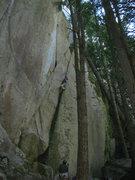 Rock Climbing Photo: Offwidthtastic!
