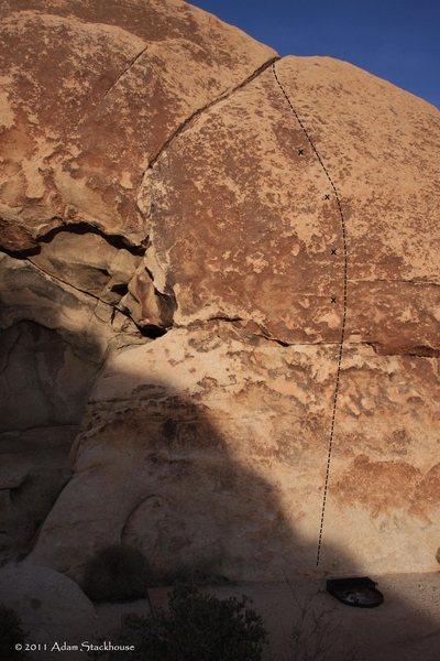 Rock Climbing Photo: Kalishnakov Kulture, still sans the hangers 1/2011