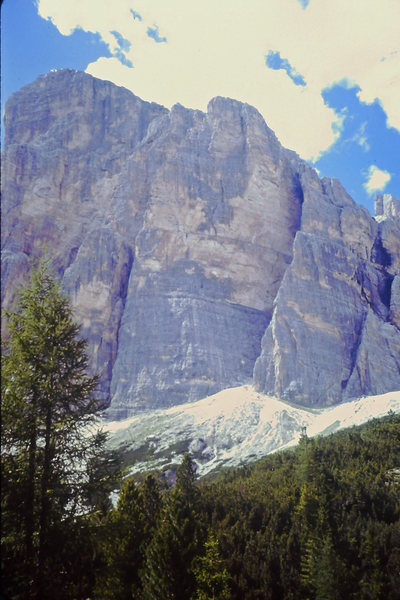 South Face Pillars, Tofana di Rozes