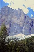Rock Climbing Photo: South Face Pillars, Tofana di Rozes