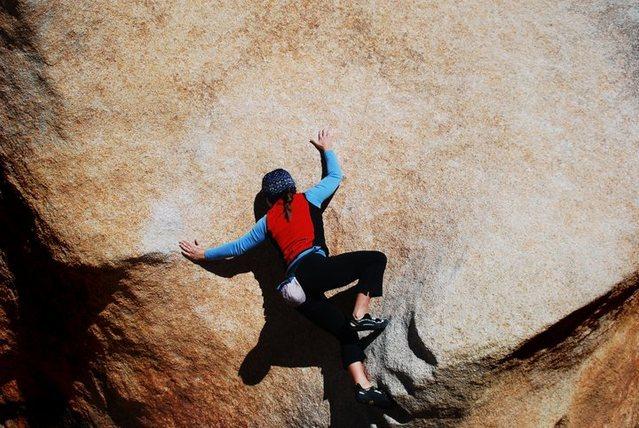 Rock Climbing Photo: Pic. Credits to Dan