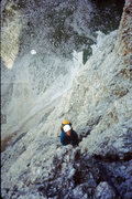 Rock Climbing Photo: High up on Vinatzer