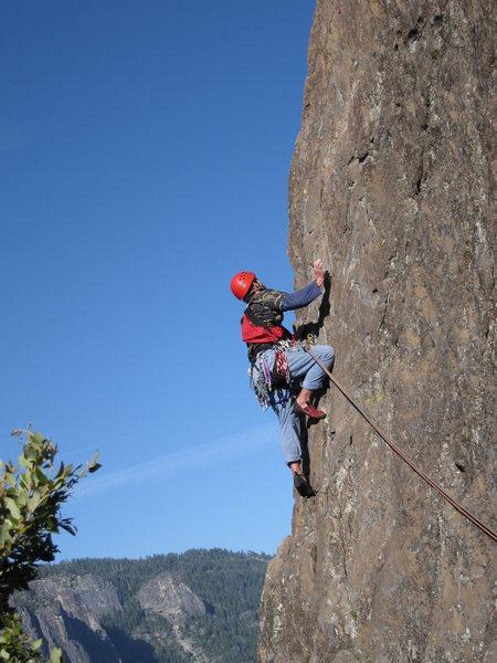 Rock Climbing Photo: Jesse