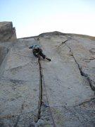 Rock Climbing Photo: nice views and great crack
