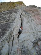 Rock Climbing Photo: Another beautiful offwidth.