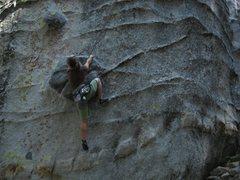Rock Climbing Photo: sweet hold!