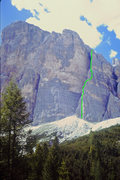 Rock Climbing Photo: South Face Buttress 1 - South Arete route