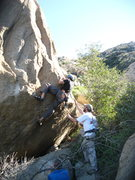 Rock Climbing Photo: Eric Odenthal on 1-23-11