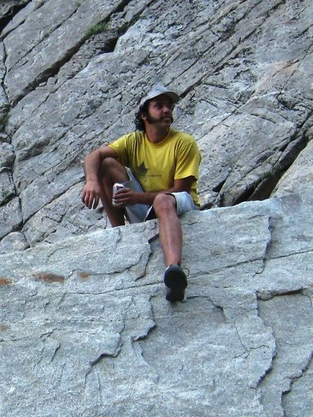 Rock Climbing Photo: ZR: man about town