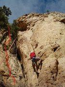 Rock Climbing Photo: Took the jasonbecker.com photo to show where the r...