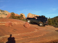 Rock Climbing Photo: sedona approach vehicle