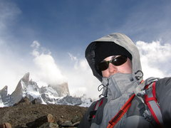Rock Climbing Photo: At the Laguna de Los Tres in front of the Fitz Roy...