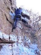 Rock Climbing Photo: south face of boulder