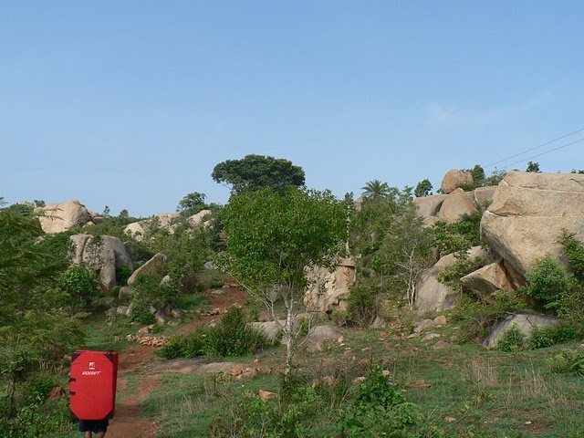 Rock Climbing Photo: Boulders at Turahalli.