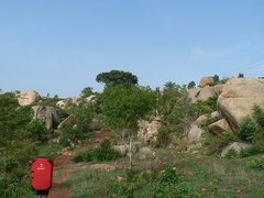 Rock Climbing Photo: Boulders at Turahalli.