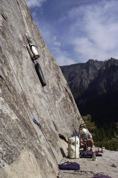 Start of the Nose at El Cap