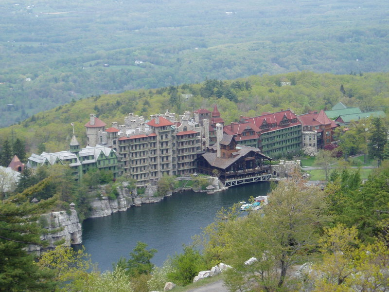 Rock Climbing Photo: Mohonk Mountain House