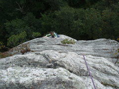 Rock Climbing Photo: cruising to the top.  as fun as any of the rides @...