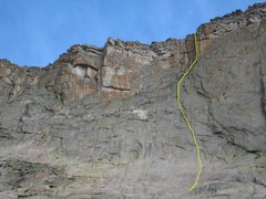 Rock Climbing Photo: Proposed new route.