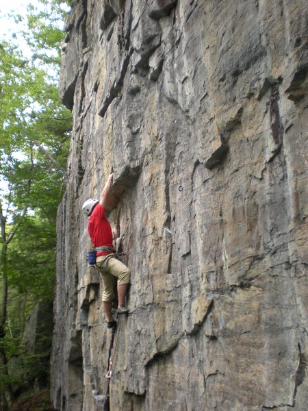 Rock Climbing Photo: Porcupine Prelude