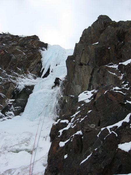 Rock Climbing Photo: Pine creek ice