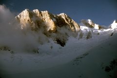 Rock Climbing Photo: Grandes Jorasses. Old slides from the eighties... ...