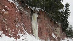 Rock Climbing Photo: climbing the flow