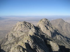 Rock Climbing Photo: Looking north from the summit of the Spire