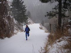 Rock Climbing Photo: run