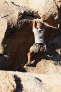Rock Climbing Photo: Bryan Ferris on Garden Angel. Photo - Joseph Lascu...