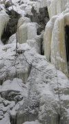 Rock Climbing Photo: the center route