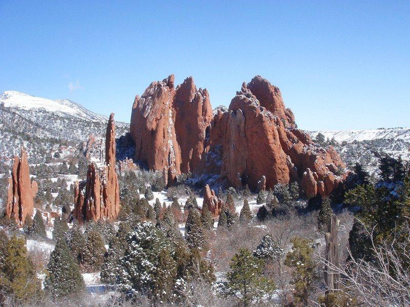 Rock Climbing Photo: Garden of the Gods.