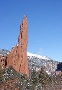 Rock Climbing Photo: South Ridge, East Face - Montezuma's Tower.