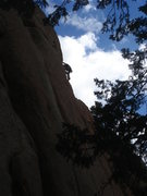 Rock Climbing Photo: Another beautiful day on the Perch.