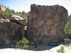 Rock Climbing Photo: Great warm up boulder that is by the ant tower for...