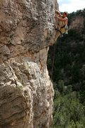 Rock Climbing Photo: Pulling a layback on Smart Server to get over the ...