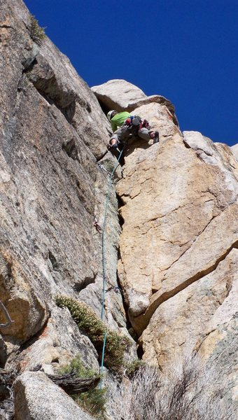 Rock Climbing Photo: The beautiful corner of Climb and Punishment