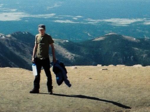 Rock Climbing Photo: pikes peak summit- fathers day 2010