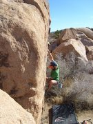 Rock Climbing Photo: Bardini Crack