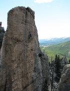 Rock Climbing Photo: Addison Duke cruising.