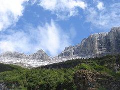 Rock Climbing Photo: Glacier National Park.