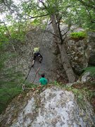 Rock Climbing Photo: Short & Sweet if you can find it in the rain fores...