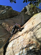 Rock Climbing Photo: such a sweet line!!!