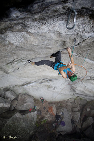 Rock Climbing Photo: Sam Bendroth on Shagg It. Photo: Pat Bagley. Check...
