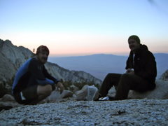 Rock Climbing Photo: Making dinner the night before heading up the Nort...