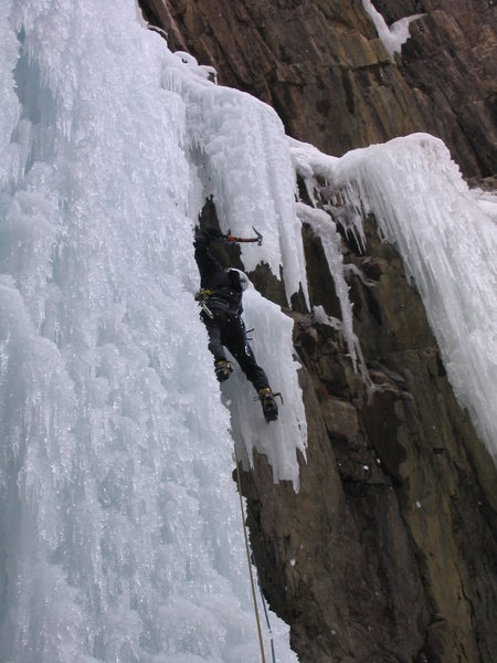 Somewhere in the ice park '04.