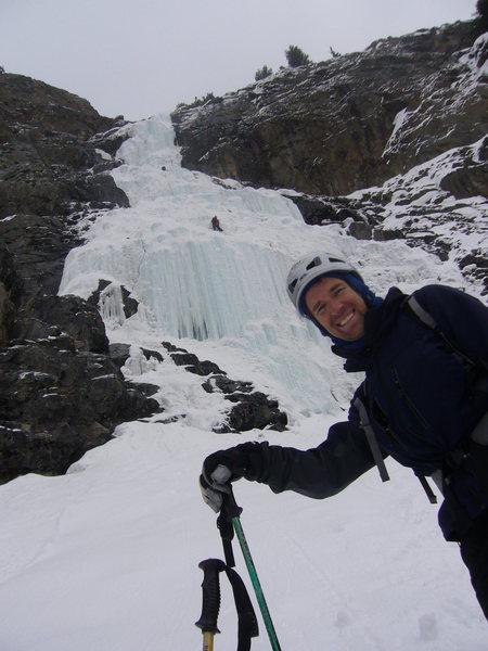 Rock Climbing Photo: The climb in '08.