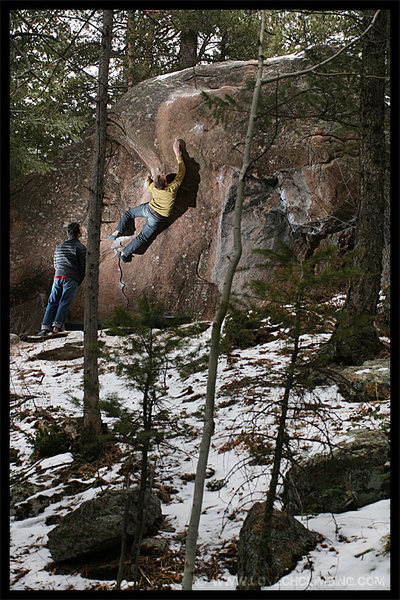 Rock Climbing Photo: TCamillieri and JGass @ Get Over It in Big Elk Mea...