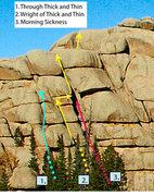 Rock Climbing Photo: More beta.