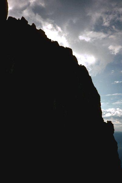 Complete Exum Ridge, profile
